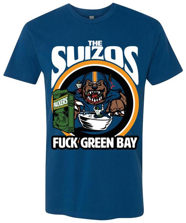 Buy The Suizos Fuck Greenbay Tshirt